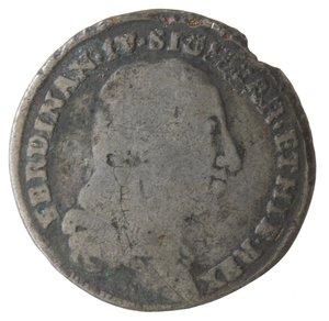 obverse: Zecche Italiane. Napoli. Ferdinando IV. Tarì 1798. Ag?. qMB. Falso d epoca?.
