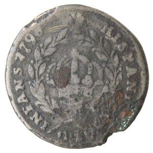 reverse: Zecche Italiane. Napoli. Ferdinando IV. Tarì 1798. Ag?. qMB. Falso d epoca?.
