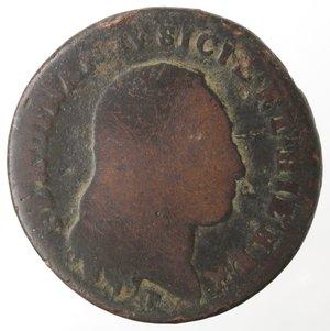 obverse: Zecche Italiane. Napoli. Ferdinando IV. 6 Tornesi 1800. Ae. B. R.