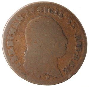 obverse: Zecche Italiane. Napoli. Ferdinando IV. 6 Tornesi 1801. Ae. qMB. NC.