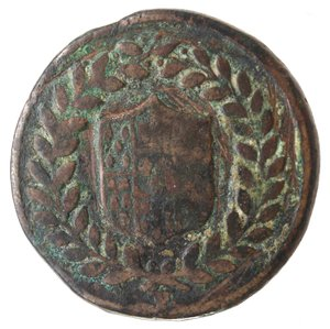 obverse: Zecche Italiane. Napoli. Ferdinando IV. 5 Tornesi 1798. Ae. MB. R.