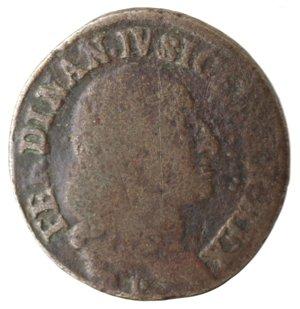 obverse: Zecche Italiane. Napoli. Ferdinando IV. 1 Grano 12 Cavalli 1798. Ae. qMB. RRR.