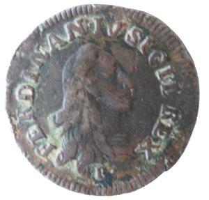 obverse: Zecche Italiane. Napoli. Ferdinando IV. 9 Cavalli 1790. Ae. qMB. NC.