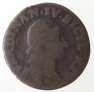 obverse: Zecche Italiane. Napoli. Ferdinando IV. 4 Cavalli 1792. Ae. B.