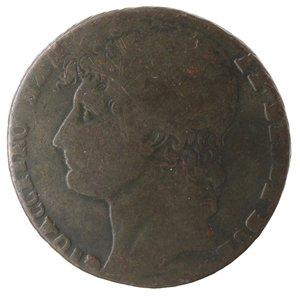 obverse: Zecche Italiane. Napoli. Murat. 3 Grana 1810. Ae. qMB.