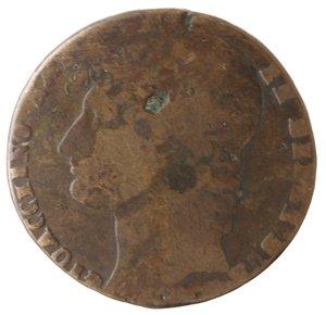 obverse: Zecche Italiane. Napoli. Murat. 3 Grana 1810. Ae. B.