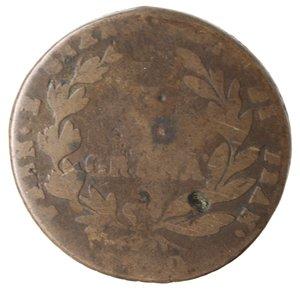 reverse: Zecche Italiane. Napoli. Murat. 3 Grana 1810. Ae. B.