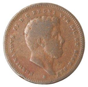obverse: Zecche Italiane. Napoli. Ferdinando II. 2 Tornesi 1839. Ae. MB.