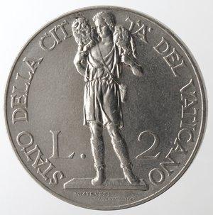 reverse: Zecche Italiane. Roma. Pio XI. 2 Lire 1930. Ni. SPL.