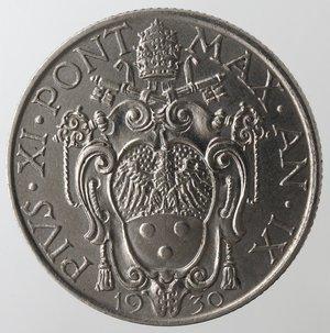 obverse: Zecche Italiane. Roma. Pio XI. Lira 1930. Ni. SPL.