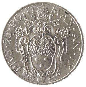 obverse: Zecche Italiane. Roma. Pio XI. 50 Centesimi 1930. Ni. SPL.