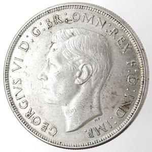obverse: Monete Estere. Australia. Giorgio VI. 1 Corona 1937. Ag 925. Km. 34. Peso gr. 28,28. Diametro mm. 38.qFDC.
