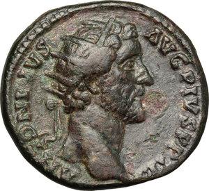 Antoninus Pius (138-161).. AE Dupondius, 145-161