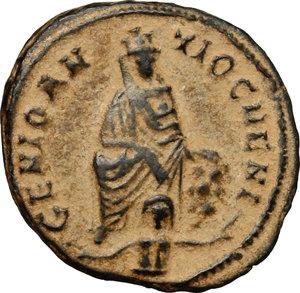 Time of Maximinus II Daia (309-313 AD).. AE 17mm, \Persecution issue\