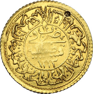 Reverse image of coin 738