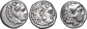 obverse: Continental Greece. Kings of Macedon. Alexander III \the Great\