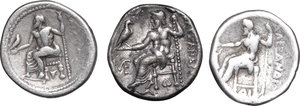 reverse: Continental Greece. Kings of Macedon. Alexander III \the Great\