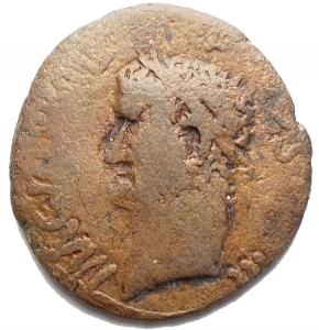 obverse: Varie - Barbari. Agrippa. Bronzo. gr 9,2. mm 24,9 x 26,4. qBB