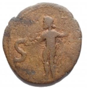 reverse: Varie - Barbari. Agrippa. Bronzo. gr 9,2. mm 24,9 x 26,4. qBB