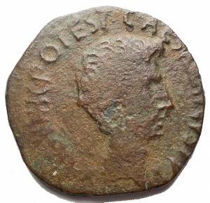reverse: Impero Romano -Augusto 27ac-14dc. C. Cassius Celer monetiere. Roma. Asse Ae.26,5mm; 9,03g. MB-BB