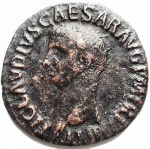 obverse: Impero Romano - Claudio I (41-54). AE Asse (27,8 mm. 9,48 g) d/ TI CLAVDIVS CAESAR AVG P M TR P IMP Testa a sn. r/ S - C, Minerva a ds. RIC 100. BB