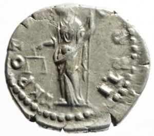 reverse: Impero Romano. Marco Aurelio. 161-180 d.C. Denario. AG. D/ M AVREL CAES ANTON AVG PII F. Testa nuda a destra. R/ TR P XVII COS II .Aequitas con scettro e bilancia . Peso 3,75 gr. Diametro 19,00 mm. Buon BB.