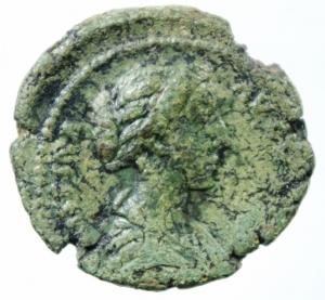 obverse: Impero Romano. Crispina, moglie di Commodo, deceduta nel 183 d.C. Asse.