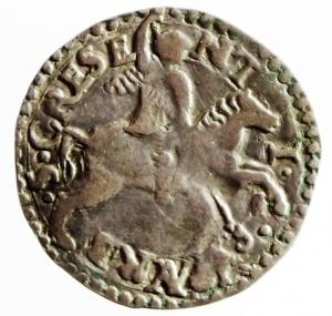 obverse: Zecche Italiane. Urbino. Guidobaldo II della Rovere. Duca di Urbino. 1514-1574. Armellino. AR. Cav. 123 var. Peso gr. 1.07. Diametro mm. 19.50. qBB.