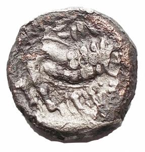 reverse: Celti - Dracma Padana Suberata da catalogare. gr 2,7. mm 14,2 x 14,7