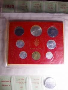 obverse: Zecche Italiane.Vaticano.Album Paolo VI dal 1963 al 1969, 7 serie in confezione in album d  epoca.FDC