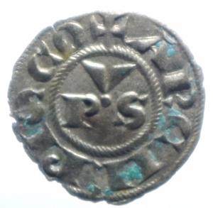 obverse: Zecche Italiane . Ravenna. Anonime Arcivescovili. sec.XIII-XIV. Denaro. CNI 7/13. MI. Peso gr. 0,55. BB+.***