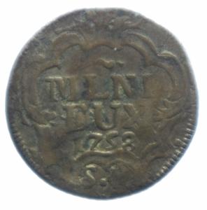 reverse: Zecche Italiane. Milano. Maria Teresa. 1740-1780. 5 soldi 1758. Mi. Peso gr. 3,15. BB.***