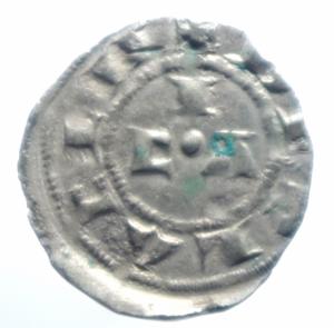 reverse: Zecche Italiane. Piacenza. Comune Corrado II. 1140-1313. Mezzano. Peso 0,65 gr. MIR 1108. BB.***