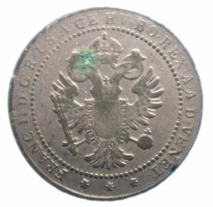 obverse: Zecche Italiane. Venezia. Francesco II (1798-1805). 1 lira veneta 1802. Pag. 10. R. MI.Peso 7,45 gr. Debolezze da conio. BB.***
