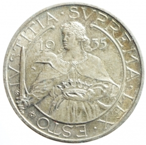 obverse: San Marino. Antica Monetazione. 10 Lire 1935. qFDC