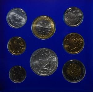 obverse: San Marino. Nuova monetazione. Serie 1999. In Confezione Originale. FDC