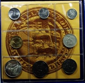 obverse: San Marino. Nuova monetazione. Serie 1972. In Confezione Originale. FDC.