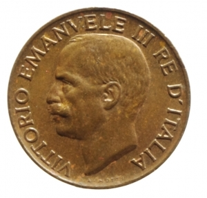 reverse: Casa Savoia. Vittorio Emanuele III. 5 Centesimi 1925. Peso 3,25 gr. Diametro 19,50 mm. qFDC\SPL