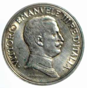 obverse: Casa Savoia. Vittorio Emanuele III. 2 Lire 1917 Quadriga Briosa. Pagani 775. Peso 10,00. BB+.Patina.