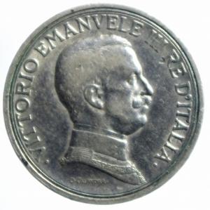 obverse: Casa Savoia. Vittorio Emanuele III. 1900-1943. 2 Lire 1914 Quadriga Briosa. Pagani 737. Peso 10,02.BB+.