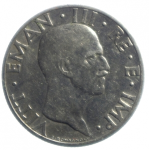reverse: Casa Savoia. Vittorio Emanuele III. 50 Centesimi 1936 Impero anno XIV. BB