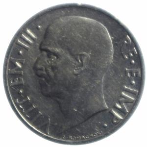 reverse: Casa Savoia. Vittorio Emanuele III. 1900-1943. 20 centesimi 1936. NI. Pag. 853. Mont. 305. BB+. R.