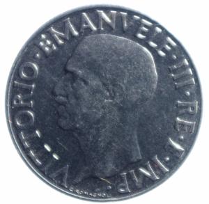 reverse: Casa Savoia. Vittorio Emanuele III. 1900-1943. Lira 1943. AC. Pag. 799. SPL. R
