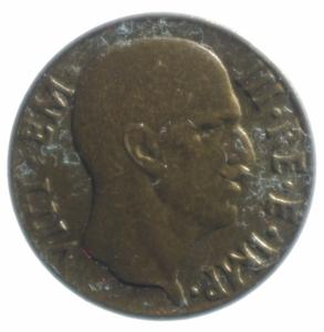 obverse: Casa Savoia. Vittorio Emanuele III. 1900-1943. 5 Centesimi 1943 Impero. Peso 3,00 gr. Diametro 19,45 mm. SPL+