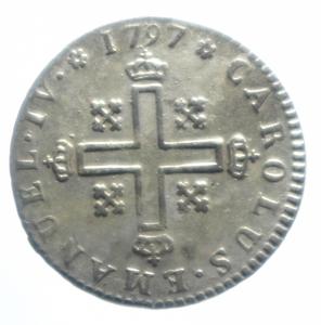 obverse: Casa Savoia .Regno di Sardegna. Carlo Emanuele IV. 1796-1800. Soldo 1797. Torino. Mont. 24. Gig 17.Peso 1,70 gr. MI. SPL Intatto.***