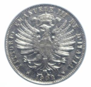 obverse: Casa Savoia . Regno di Italia. Vittorio Emanuele III (1900-1943). 25 centesimi 1902. Pag. 827. R. NI. qSPL.***