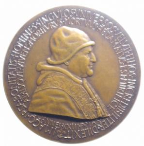 obverse: Medaglie Papali.Giovanni XXIII. JESUS VOCAT DE LACRYMIS AD GAUDIUM VITAE.Diametro 41,00 mm.FDC.***