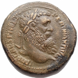 obverse: Medaglie - Grande Bronzo al tipo di Sesterzio di Pertinace. gr 22,7. mm 32,2