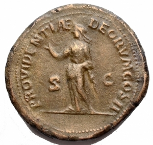 reverse: Medaglie - Grande Bronzo al tipo di Sesterzio di Pertinace. gr 22,7. mm 32,2