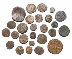obverse: Lotti - Evo Antico.Lotto di 26 pezzi in Ae